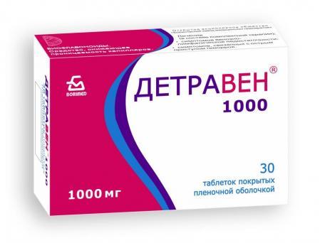 Детравен®1000, таблетки