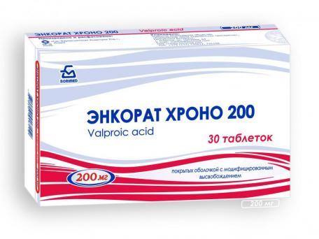 Энкорат Хроно 200, таблетки