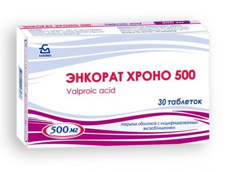 Энкорат Хроно 500, таблетки