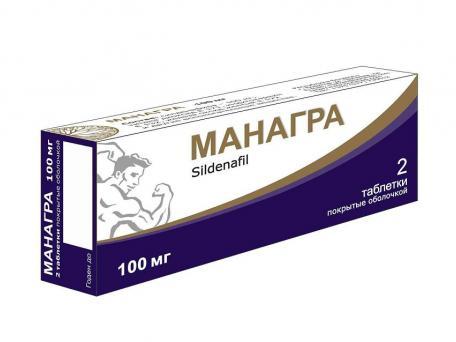 Манагра, таблетки