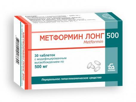 Metformin Long 500